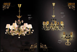 نحاس فاخر pendant chandelier (MD0919-6)